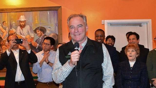 DEMÓCRATA. El senador Tim Kaine, candidato demócrata a la reelección por la silla senatorial de Virginia, llama a los hispanos a que el 6 de noviembre demuestren su poder con su voto.
