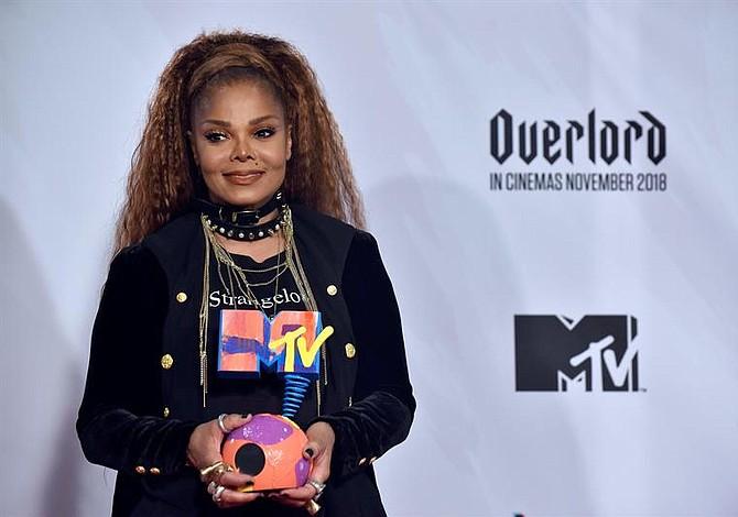 El poderoso mensaje feminista de Janet Jackson en los MTV europeos