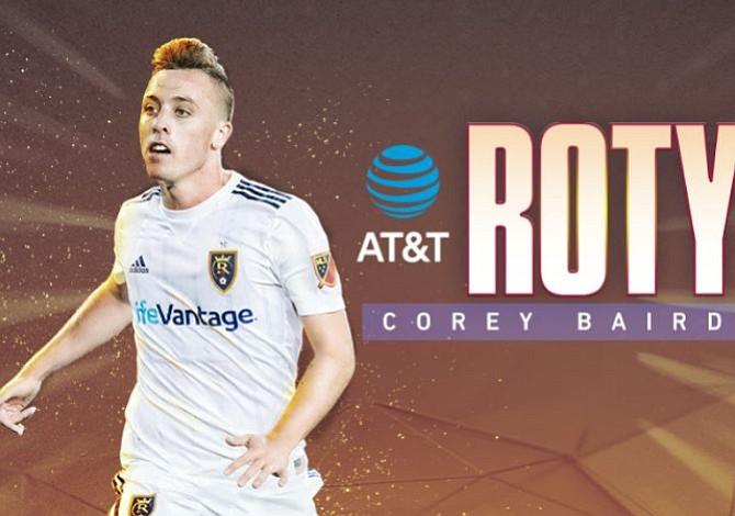 El delantero Corey Baird es nombrado Novato del Año de la MLS