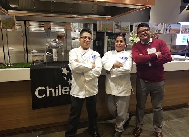 Chefs de DC compitieron y cocinaron con productos chilenos