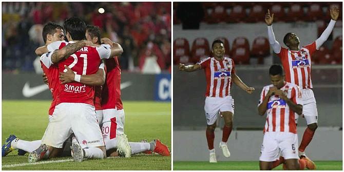 FÚTBOL. Independiente Santa Fe y el Junior inician este jueves la lucha por representar a Colombia en la final de la Copa Sudamericana-2018