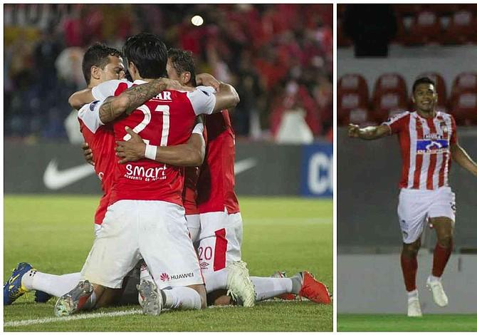 Santa Fe y Junior se enfrentan por un cupo en la final de la Copa Sudamericana