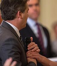PRENSA. Jim Acosta, corresponsal de la CNN en la Casa Blanca