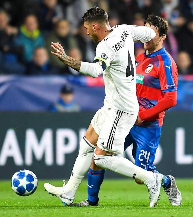 Incidente entre Sergio Ramos y Milan Havel