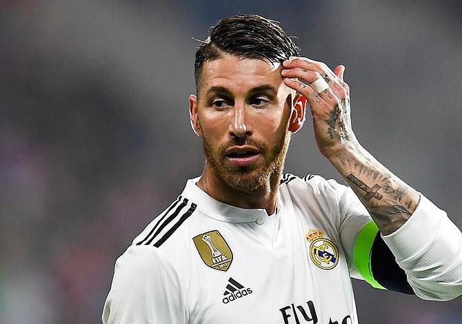 Sergio Ramos le fracturó la nariz a un rival y quedó impune