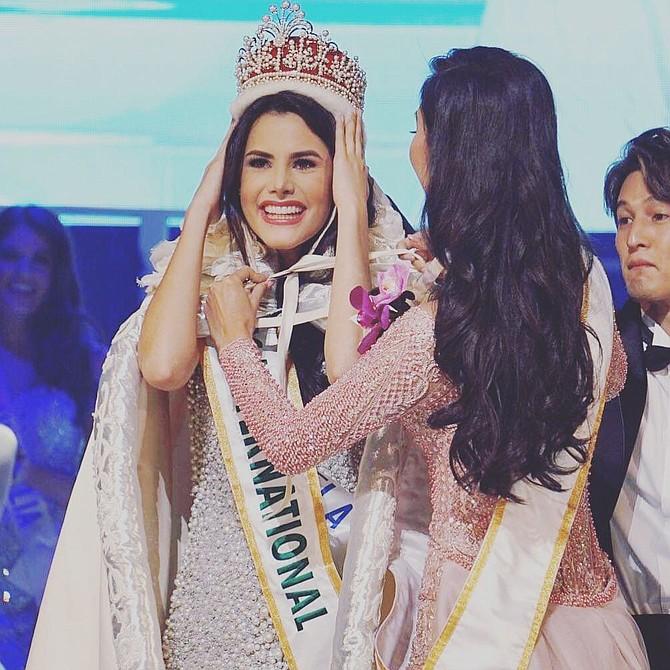 Mariem Velazco, candidata de Venezuela en el Miss International 2018.