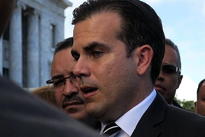 POLÍTICA. El gobernador de Puerto Rico, Ricardo Rosselló