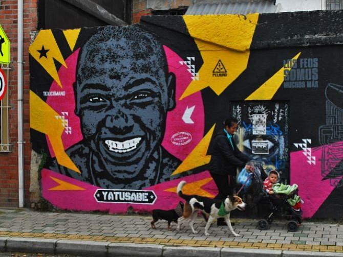 COLOMBIA. El arte de Toxicómano callejero se ha hecho sentir