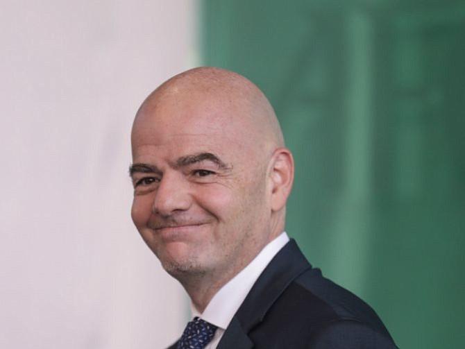 MANDAMÁS. Gianni Infantino, presidente de la FIFA