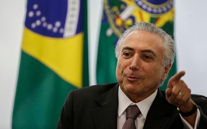 """DECISIÓN. Según el presidente brasileño, Michel Temer, la decisión responde a un pedido de la fiscal general, Raquel Dodge, quien solicitó una intervención federal """"imperiosa y urgente""""."""
