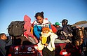 MIGRACIÓN. La segunda caravana de migrantes centroamericanos continúan su marcha hoy, martes 13 de noviembre de 2018, por carreteras del estado de Jalisco (México)