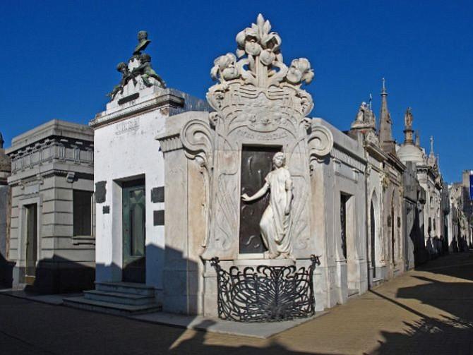 ARGENTINA. Cementerio de Recoleta, en Buenos Aires