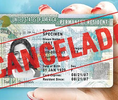 """ARRANCÓ. USCIS inició política de deportación que podría afectar a solicitantes de """"green card""""."""