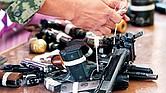 CONSECUENCIA. Las autoridades de México relacionan la entrada de decenas de miles de armas estadounidenses con el aumento de homicidios con arma de fuego en el país.