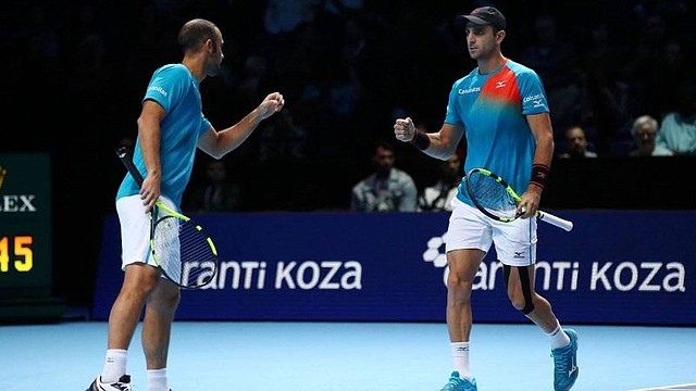 TENIS. La pareja colombiana integrada por Juan Sebastián Cabal y Robert Farah hizo historia al clasificar a las semifinales del Torneo de Maestros de la ATP
