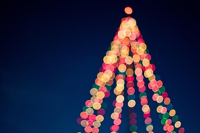 CELEBRACIÓN. El encendido de luces del Árbol de Navidad Noruego es una tradición con más de 20 años