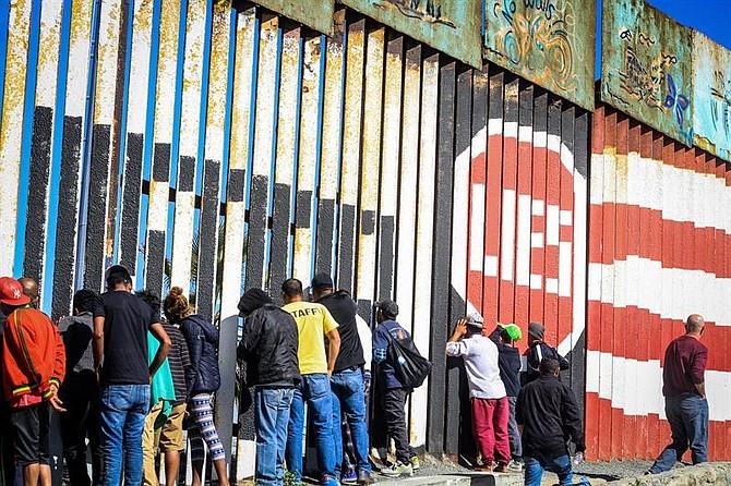 MIGRACIÓN. Rivera Montes dijo que sus compatriotas tiene expectativas y sueños, por lo que serán acompañados para que se respeten sus derechos humanos y el debido proceso.