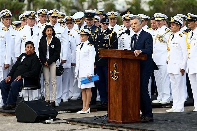 """HALLAZGO. """"Es el día más triste. Se trata de una heroína y 43 héroes que dejaron un vacío irremplazable en las vidas de sus seres queridos"""", consideró el presidente Macri."""