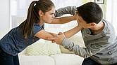 Las peleas entre hermanos son muy frecuentes.