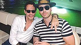Marc Anthony y Prince Royce.