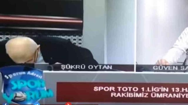 Video: Presentador de noticias turco sufrió un infarto en directo