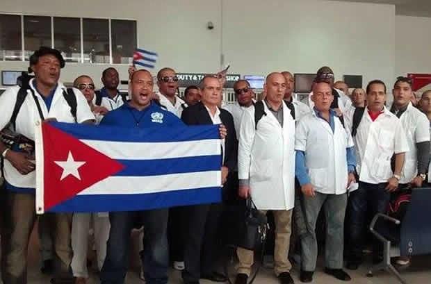 Unos 800 médicos cubanos no han regresado a su país