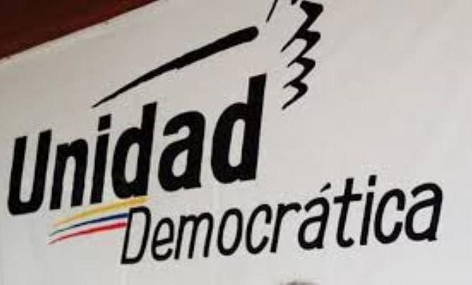 Foto de archivo alusiva a la Mesa de la Unidad Democrática, una coalición de partidos opositores en Venezuela