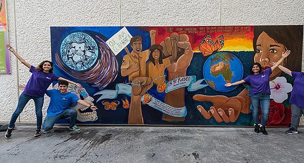 Caminos Saltillo Mural
