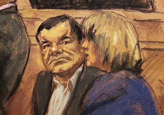 Juicio Chapo: Testigo de la Fiscalía asegura que Guzmán tenía un fusil AK-47 enchapado en oro con piedras preciosas