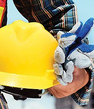 Entrenamiento para trabajadores de construcción.