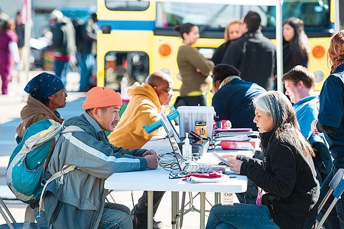 Atención médica para personas sin hogar
