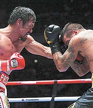 CONFIRMADO. Manny Pacquiao defenderá su cinturón de campeón del peso élter por la Asociación Mundial de Boxeo (AMB).