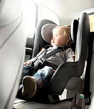 Protección. Evento organizado para verificar el correcto uso de los asientos.