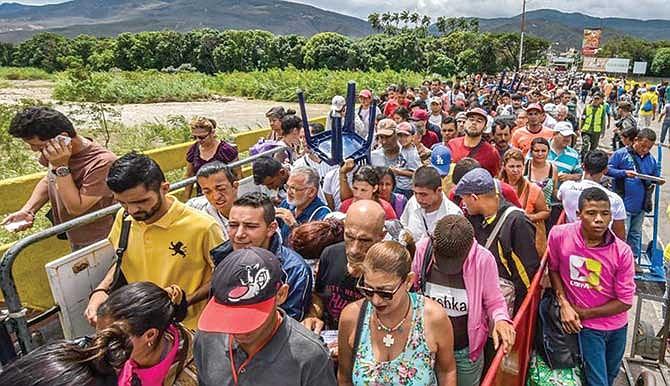 Unión latinoamericana para ayudar a migrantes venezolanos