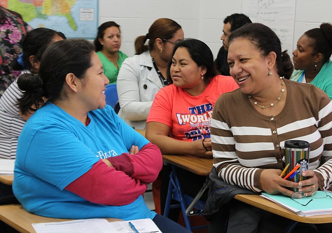 Una escuela para padres que quieren aprender inglés