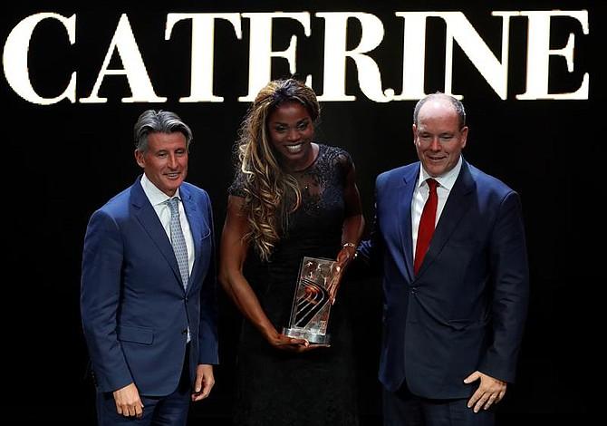 Caterine Ibargüen ganó el premio a la mejor atleta del mundo del 2018