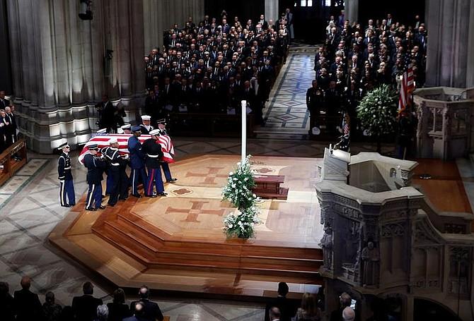 Funeral de Estado en memoria del ex mandatario George H. W. Bush