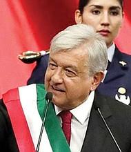 VEREMOS. Andrés López empieza su gobierno con un alto nivel de aprobación y expectativas. Por todo lo que ofreció en campaña está obligado a dar resultados a corto plazo.