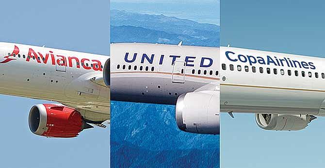 Conveniente unión de aerolíneas