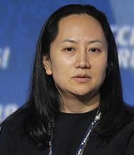 TECNOLOGÍA. Fotografía de archivo del 2 de octubre de 2014, que muestra a Meng Wanzhou, directora financiera de Huawei