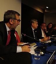 JUSTICIA. Edison Lanza, relator especial para la Libertad de Expresión de la CIDH