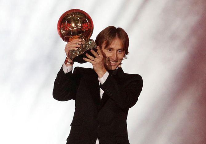 Luka Modric hizo historia al alzarse con el Balón de Oro