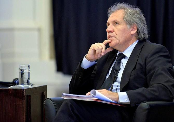 Almagro aspira ser reelecto como secretario general de la OEA