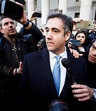 JUSTICIA. Michael Cohen, exabogado personal del presidente estadounidense, Donald Trump