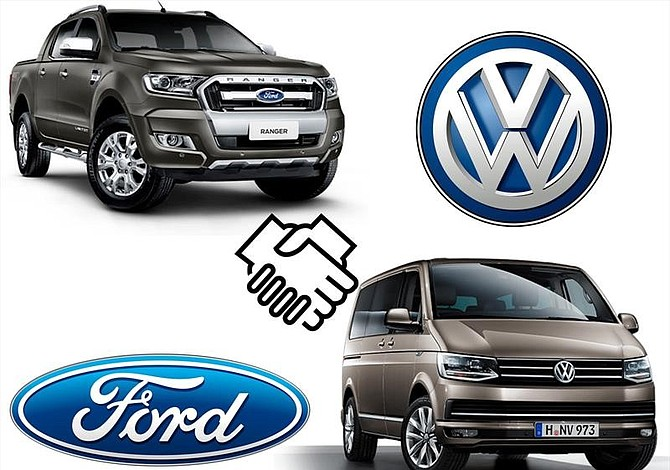 Volksvagen y Ford se fusionan para la producción de línea de vehículos ligeros comerciales