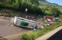 SUCESO. Accidente de tránsito en Valle del Cauca deja al menos 9 muertos y una decena de heridos