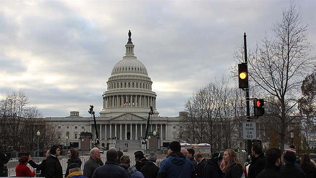 WASHINGTON. Foto del 4 de diciembre de 2018 que muestra al Capitolio de Estados Unidos
