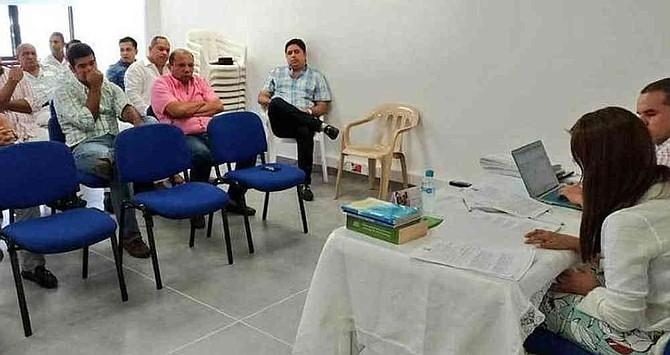 COLOMBIA - Lectura de fallo de la Procuraduría en el que se destituyen 16 de los 19 concejales de Valledupar.