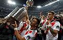 MONARCAS. Alzaron su cuarto trofeo de Copa Libertadores