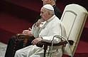 CUMPLEAÑOS. En medio de la celebración, el Papa dijo que los niños son buenos para enseñarles a los adultos a ser humildes, a comprender mejor la vida y a la gente.